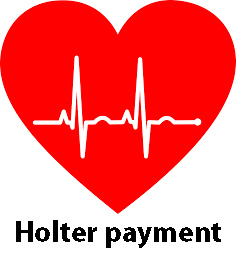 Link to Holter payment in the shopping cart