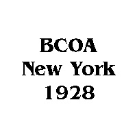1928 BCOA national logo