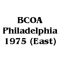 1975 BCOA national east logo