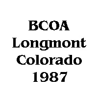 1987 BCOA national logo