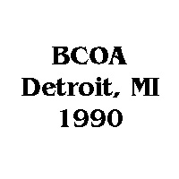 1990 BCOA national logo