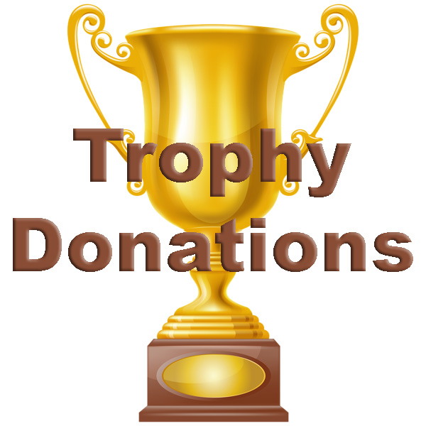 Trophy Donation graphic