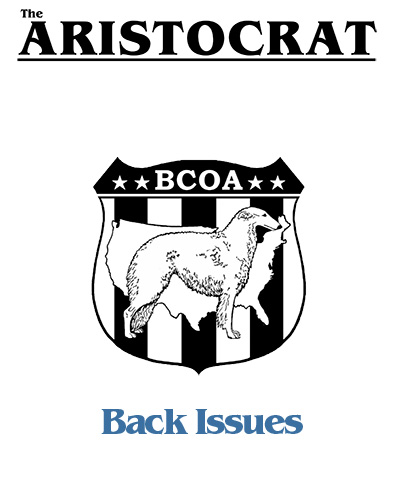 BCOA Aristocrat back issues graphic